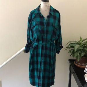 Shirt dress, size 1x
